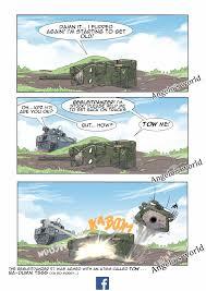 100 Angelos Landscape World Begleitzpanzer Towing Warthunder