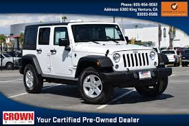 100 Craigslist Ventura Cars And Trucks By Owner Jeep Wrangler For Sale In CA 93003 Autotrader