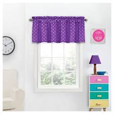Target Eclipse Pink Curtains by Kai Blackout Thermaweave Polkadot Window Valance Eclipse My