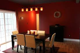 Dining Room Classy Design With Orange Wall Color And The Most Incredible Lovely Romantic Chairs For House
