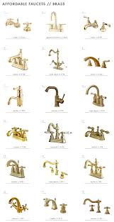Unlacquered Brass Bathroom Faucet by 18 Affordable Brass Bathroom Faucets Ehd Round Ups Pinterest