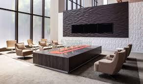 indoor kamin mit sitzbereich feuertisch infrarotheizung
