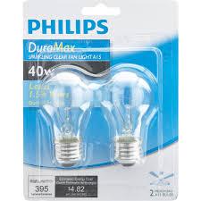 philips duramax a15 incandescent ceiling fan light bulb 169342