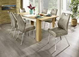 2er set stühle mit gestell aus verchromten metall
