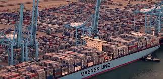e le plus grand port containers du monde maison container