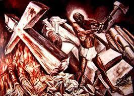 josé clemente orozco cristo destruye su cruz