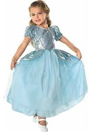 Palace Princess Child Costume Includes Metallic Dress With Puff Sleeves Medium Is Size Designe