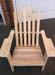 Pallet Adirondack Chair Plans by Ideal Pallet Lounge Set 101 Pallets