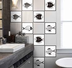 fliesenfolie schönes fischmuster