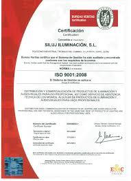 fluido bureau veritas certificado iso 9001 2008 siluj