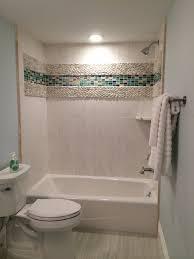 unique design accent tiles for shower creative idea standing white