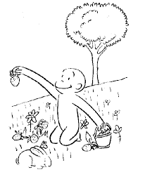 Curious George Coloring Pages 5