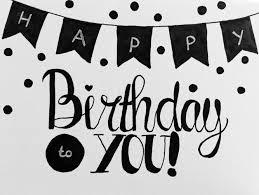 Handlettering happy birthday Font astic Pinterest