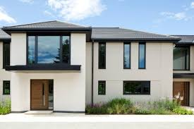 Modern House Fronts by Black And White Exterior House Home Design