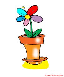 fleurs en pot clipart gratuit fête des mères clipart cartes