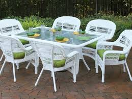 Stunning White Wicker Outdoor Furniture Patio 18 Resin Wicker