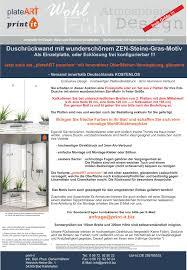 details about eck duschrückwand rückwand dusche alu fliesenersatz zen steine gras motiv