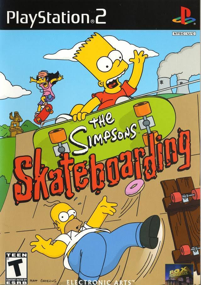 The Simpsons Skateboarding - Playstation 2