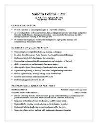 Professional Social Work Resume Examples Recent Graduate Massage Therapist