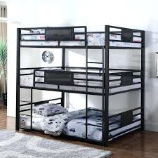 Wal Mart Bunk Beds by Bunk Bed Walmart White Triple Loft With 3 Beds U2013 Ipadcu