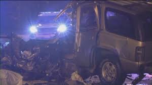 100 Truck Accident Chicago Driver Killed After SUV Smashes Into Salt Truck Gets Hit By Another