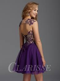 clarisse short formal dress 2918 promgirl net