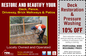 Cleaning Decking With Oxygen Bleach by Clean A Deck Archives Pwng Services