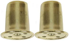 jandorf 60109 tapped top hat l finial 1 4 27 1 in l solid brass