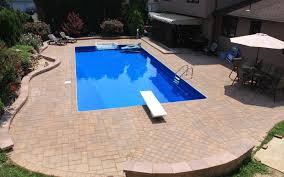 concrete pavers blue pools montgomery nj