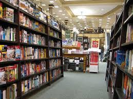 Barnes noble bookshelves