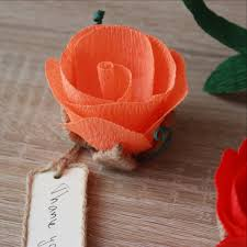 Wedding Flower Name Place Card Holders With Tags