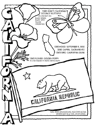 California Coloring Page