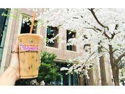 Large Pumpkin Iced Coffee Dunkin Donuts by The Story Behind Our New Coconut Crème Pie Flavored Coffee