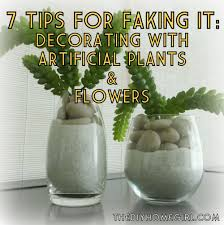 Wolfard Hand Blown Oil Lamps by 6 Secrets To Pulling Off Fake Plants And Flowers At Home Faux