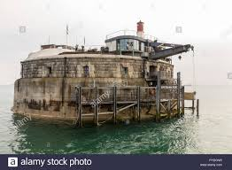 100 Spitbank Fort Plymouth Stock Photo 223418659 Alamy