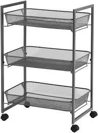 büro grau bsc061g01 einfacher aufbau badezimmer küchenregal