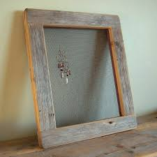 Barnwood EARRING FRAME From Reclaimed Weathered Wood