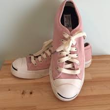off Converse Shoes Light pink Converse Jack Purcell s from