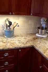 backsplash help to go w typhoon bordeaux granite kitchens forum