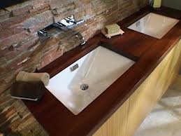 Square Bathroom Sinks Home Depot by Undermount Bath Sink With Faucet Holes Studio Square Bathroom