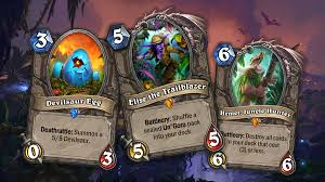 hearthstone journey to un goro s 5 most exciting cards venturebeat