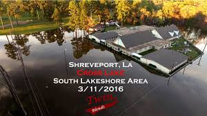 alligator bayou lake update louisiana cross lake area flooding 2016 shreveport la