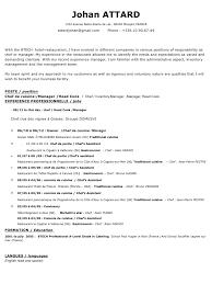 chef de partie en cuisine cv attard johan pdf par claude fichier pdf