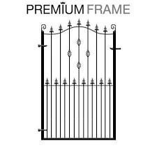 Garden Gates Metal Wrought Iron Steel