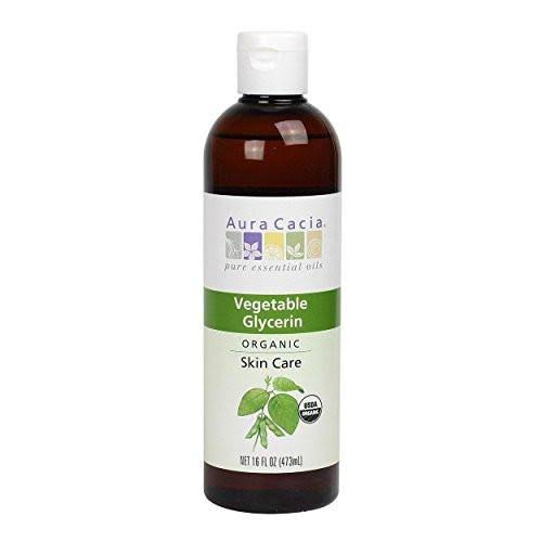 Aura Cacia Organic Skin Care Oil - Vegetable Glycerin, 16oz