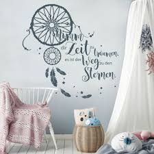 dekoration wandtattoo schlafzimmer sweet dreams süße träume