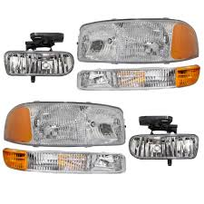GMC Sierra Pickup Truck Yukon & XL 6 Piece Set Of Headlights Signal ... 52017 F150 Anzo Led Switchback Outline Projector Headlights Mack Rd Ch Sfa Some Sba Freightliner Mt Rv Utilimaster Penske Makes Trucklite Standard For United Pacific Industries Commercial Truck Division Round Sealed Low Beam Headlamps Pair Set Chevy Pickup Land Cruiser Fj40 Fj55 Minitruck Of 2 Xenon Headlights American Truck Simulator Smoked Black 1116 Ford Super Duty Halo Gorecon Pair Cree H6054 7x6 Toyota 4piece Signal Marker Lamps Replacement Gmc Next Generation Scania With Shing Editorial Purple Volvo Fh Semi Trailer Stock Image