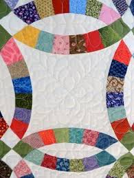 43 best Quilting Designs Double Wedding Ring Quilt images on