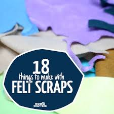 Comment Below Which Crafts Do You Make With Your Felt Scraps
