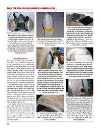 Was Kostet Eine Kã Che Leicht Das Vespa Schrauberhandbuch
